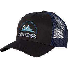 tentree Embroidery Altitude Cap, meteorite black